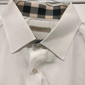 Men's Authentic Burberry Dress Shirt